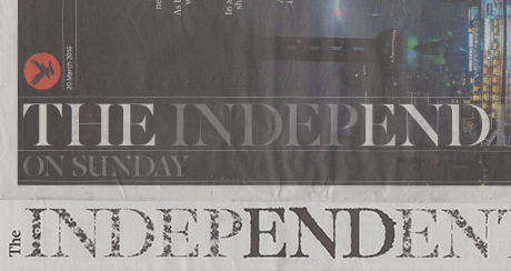 Stopping the Presses! – The end of The Independent in Print