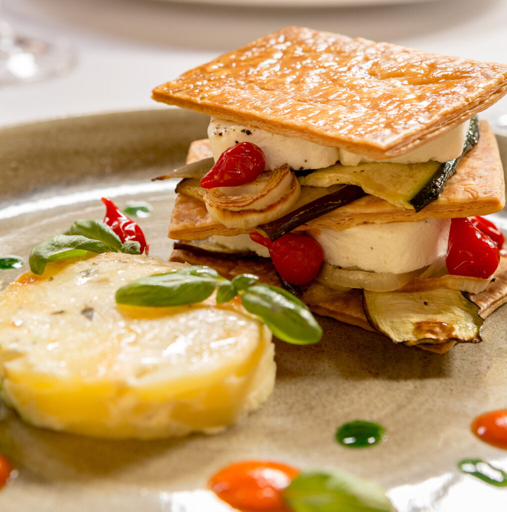Goat Cheese Mille Feuille