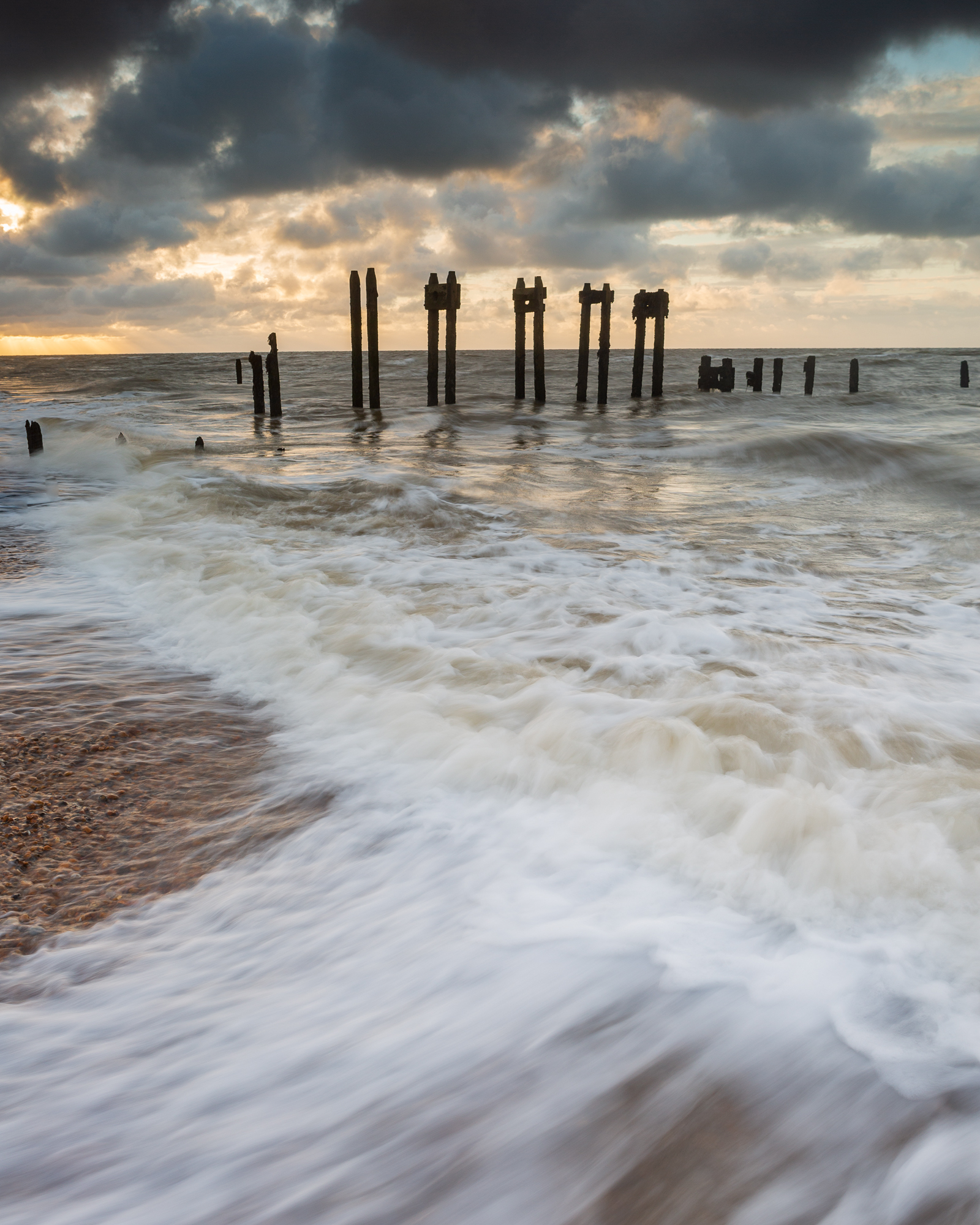 Squeeze, Bawdsey, Suffolk